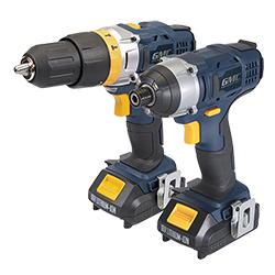 18V Combi Drill & Impact Driver Twin Pack